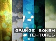 Grungy bokeh texturen