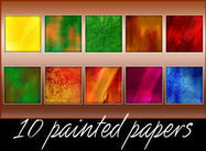 10 Painted Papers