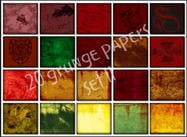 Dirty grunge papers Set II