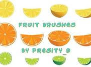 18 Fruitborstels voor Photoshop CS3