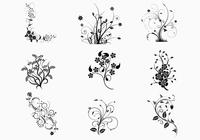 Floral-swirls-brush-pack-photoshop-brushes