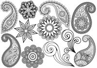 Paisley Brushes Pack Two