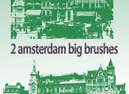 2 old amsterdam brushes