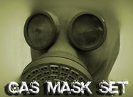 Gas Mask Pinceles para Photoshop
