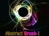Abstrait Brush-1
