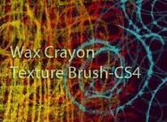 Wax Crayon Texture Brush cs4