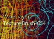 Wax Crayon Texture Brush cs4