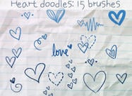 Heart Doodles Brushes 1