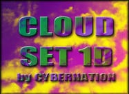 Cloud Set 1D Borstels