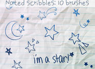 Brosses Doodles Star