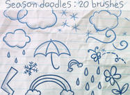 Season Doodles Brushes