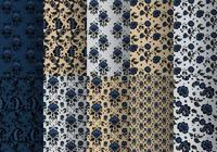 Blue Baroque Pattern Pack