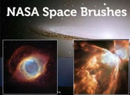 8 Nasa Space & Nebula Brushes