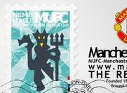 Manchester United Logo+Stamp