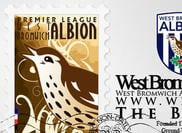 Logotipo de West Bromwich Albion + Sello