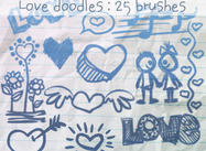 Love Doodles Brushes