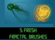 5 Fresh Fractal Brushes