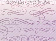 Decorative Brushes 1
