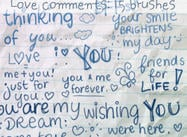 Love Comments Brushes