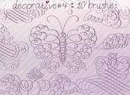 Decorative Brushes 4