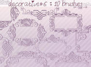 Brosses décoratives 6