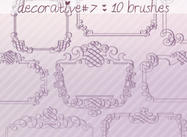 Decorative Brushes 7