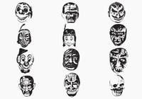 Weird-mask-brushes-pack-one