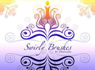 Swirly brosses
