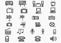 Multi-Media-Pinsel-Icon-Pack