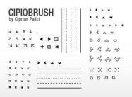 Cipiobrush small pixel bruses