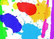 Watercolor Splatters & Drips Brushes