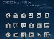Iconos de Codex para Android