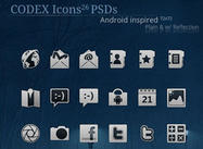 Codex Icons für Android