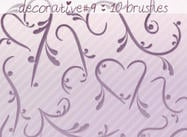 Decorative Brushes 9