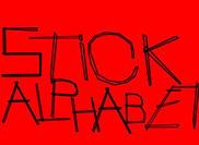 A Stick Alphabet