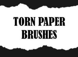 Torn Paper Brushes - Free Photoshop Brushes at Brusheezy!