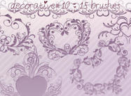 Decorative Brushes 10
