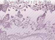 Decorative Brushes 12