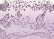 Brosses décoratives 12