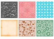 Scrapbook Papers Brushes Set 02