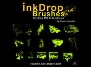 Inkdrop bürsten (full-set)