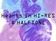 Corazones HI-RES y HalfTone