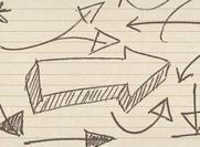 "Hand Drawn ""Arrow"" Photoshop Brushes"