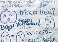 Halloween klotter