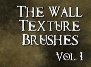 Die Wall Texture Brushes Vol. 1