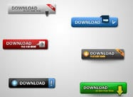 Saubere Download Buttons Pack