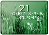 Pincéis de grama
