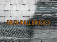 Brick Wall Brushes