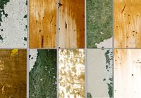 Pacote de textura de paredes pintadas