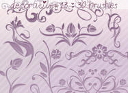 Decorative Brushes 13